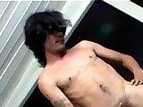 brown hair, chinese, fetish videos, gay boys, hairy boys, long hair, masturbation, pissing